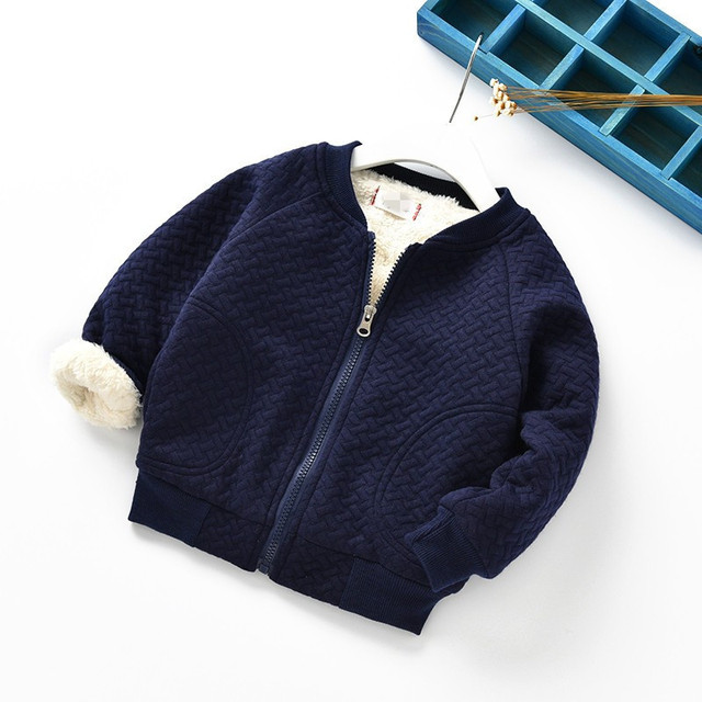 New Baby Coat  Boy and Girl  Thickness Autumn Winter  Newborn Jacket  Baby Coat  8BB029