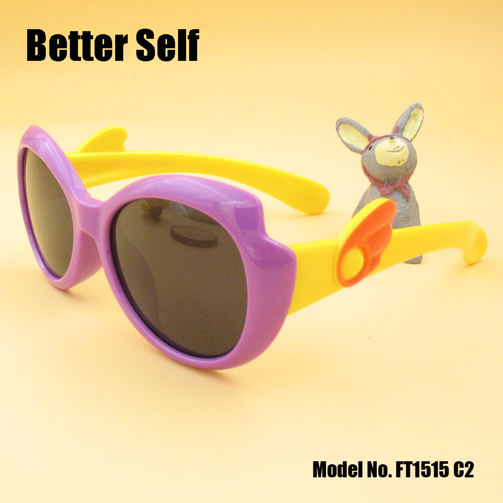 Solbriller til børn Wing Temple Kid Polariserede vintage briller - Beklædningstilbehør - Foto 4