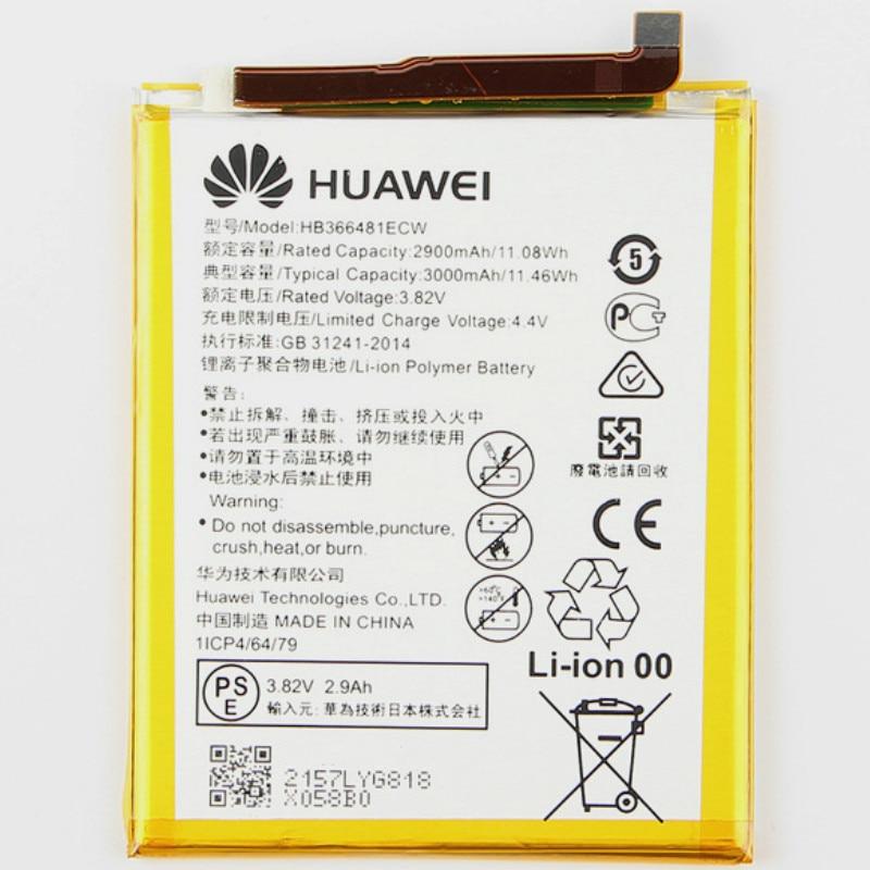 Battery For Eva-L09/honor Play 3000mah Ce 6C P9/ascend 5C/G9 Pro/v9