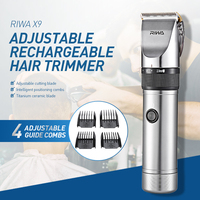 RIWA X9 Professional Hair Trimmer Electric Hair Clipper Trimmer Hair Cutting Shaving Machine Hair Cutter Shaver for Men EU PLUG