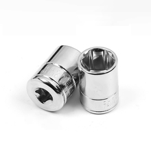 Hexagonal standard 1/4(6.3MM)Small Wrench Sleeve Head 4MM-14MM Replaceable Ratchet wrench Connector Nut Removal Tool socket Set