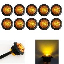 HEHEMM 10 X 3 LED Car Side Marker Lights Clearance Lamp Trailer Truck Car Light 12V DC цена