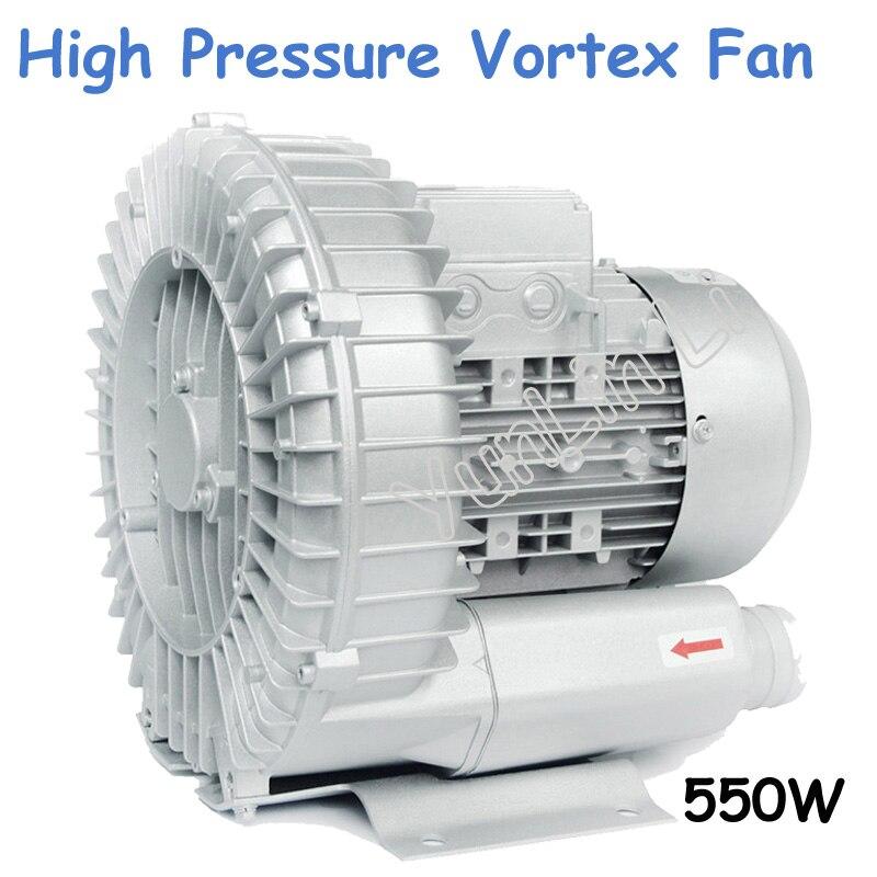 Anel de Duas Fases de Sopro w de Alta Grande tipo Hg-550 Pressão Vórtice Ventilador Fluxo 550