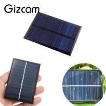 Universal 6V 0.6W Solar Power Panel Poly Module DIY Small Cell Charger For Iphone Light Battery CellPhone Toy Portable Drop