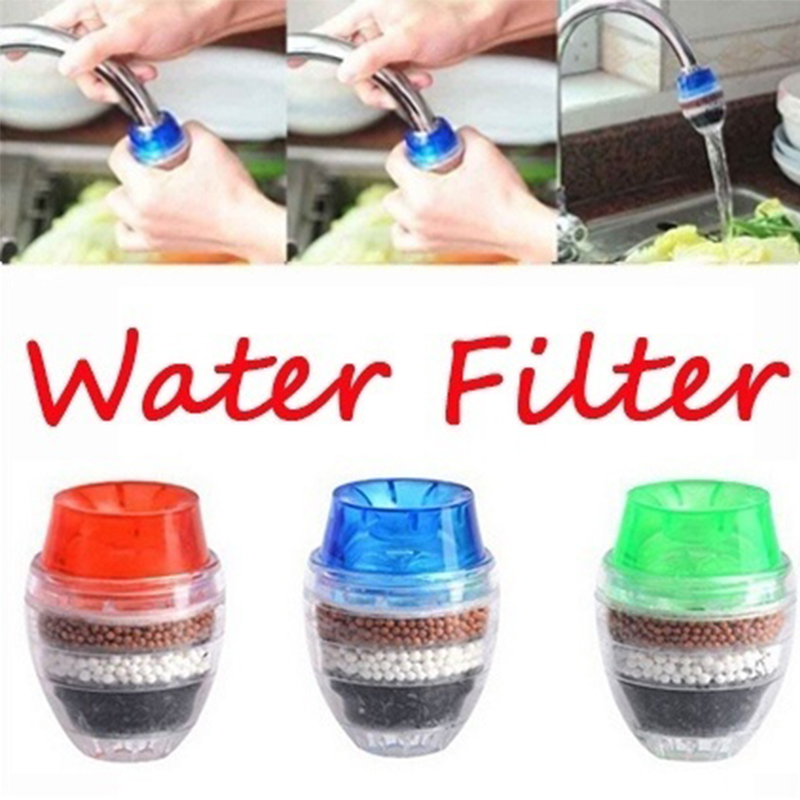 Activated Carbon Water Purifier for Household Kitchen Faucet with Multiple Layer Filtration 1