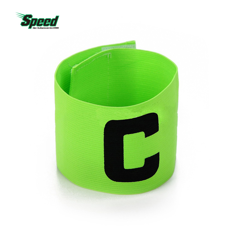 10Pcs Professional Football Basketball Soccer Sports Flexible Adjustable Player Bands Badge Captain Armband C Worlds 4 Colors image