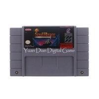 Nintendo SFC/SNES Cartucho de Jogo de Vídeo Console Cartão Alma Blazer EUA Versão do Idioma Inglês