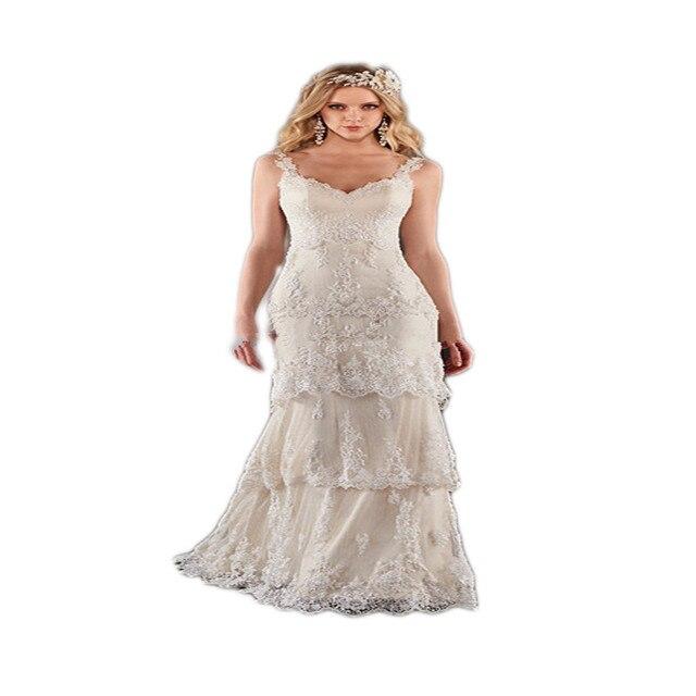 Boho Strand Hochzeitskleid 2016 V ausschnitt vintage romantice ...