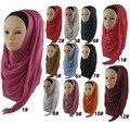 Glitter 2016 Women Muslim Islamic Viscose Arab Shimmer Scarf Hijab Oversized Maxi Neck Shiny Pashmina170*85cm Free Shipping