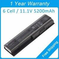 New 6 cell laptop battery for hp Envy m6 m6 1100 DV4 5200 DV6 7200 DV7 7200 672326 421 HSTNN OB3N HSTNN UB3N TPN W108