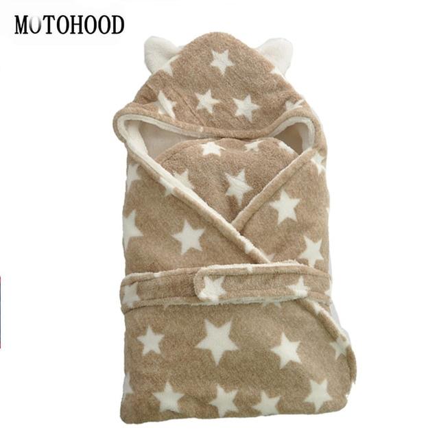 75 75cm Chunky Croal Fleece Baby Blankets Newborn Bedding Winter