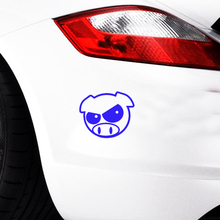 Hot Sale Car Stying Cool Graphics Two Rally Pigs Vinyl Sticker Window Decal Jdm Creative Stickers