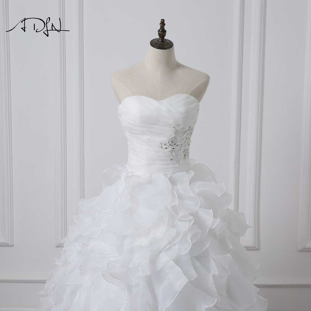 Adln 2020 Stock Corset Wedding Dresses Ivory White Robe De Mariee Princess Organza Beaded Ruffle Plus Size Ball Gow Bridal Gown Cheap Bridal Gowns Bridal Gowncorset Wedding Dress Aliexpress,Wedding Dress Makers Sydney
