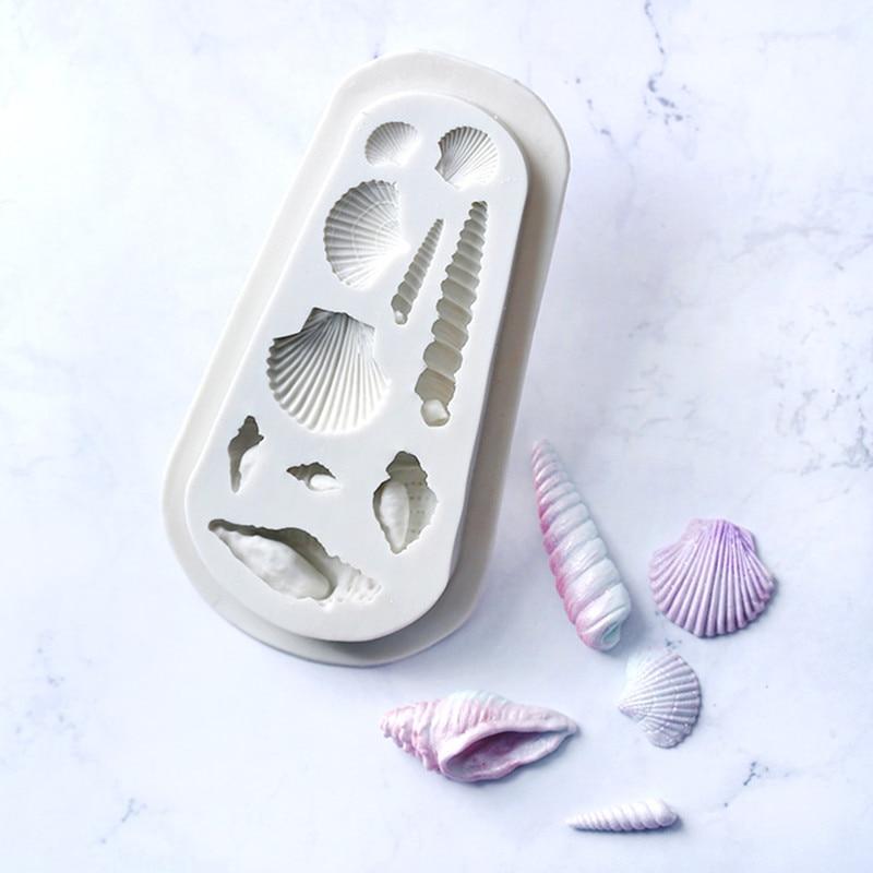 Ozean Thema Silikon Form Kuchen Dekor Schokoladen Zuckerform Spielzeug Formteil