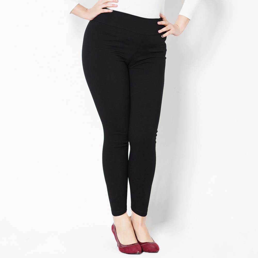 b06acb6c8617a NEW Korean Autumn Winter XXXL 4XL 5XL Size for Sexy Elastic Cotton Soft  Show Thin Women All match Leggings Plus size 7 Colors-in Leggings from  Women's ...