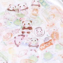 40pcs/box Bagged Stickers Cute Animals Hand Account Stickers Stationery Stickers Cute Personalized Stickers(China)