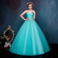 Backless Organza Evening Dress Crystal Sequined Strapless Sleeveless Floor Length Skirt Gown Dress Evening Party Sexy Dresses