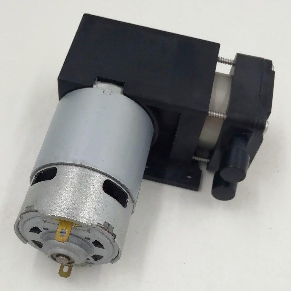 37L/M débit 5000 mbar haute pression électrique dc 24 v/12 V micro brosse piston pompe