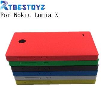 RTBESTOYZ оригинальный стиль задняя крышка для Lumia X 1045 RM 980 крышка батареи Корпус Дверь для Nokia X 1045 RB 980 с боковой кнопкой