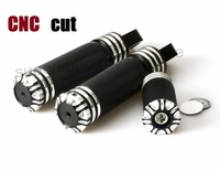 Motorcycle CNC black FootPegs And Shifter Peg For Harley Sportster Touring Dyna Softail Custom