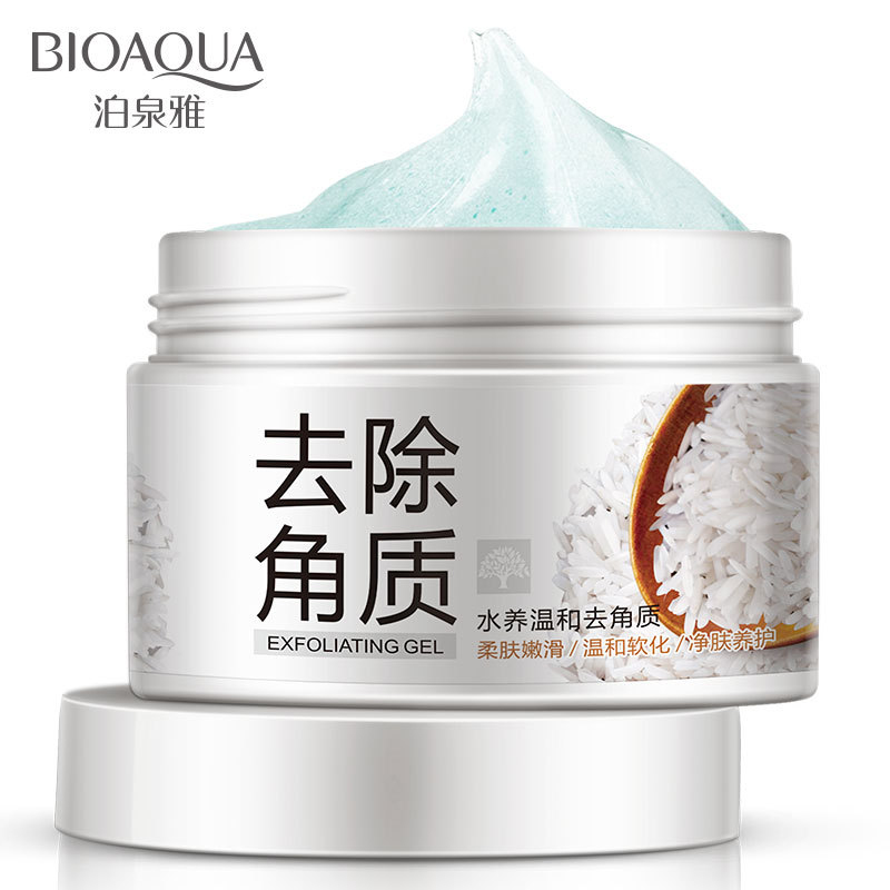 BIOAQUA Water Conservation Exfoliating Condensation Deep Cleansing Face Moisturizing Skin Care Mild Exfoliating Cosmetics 140g