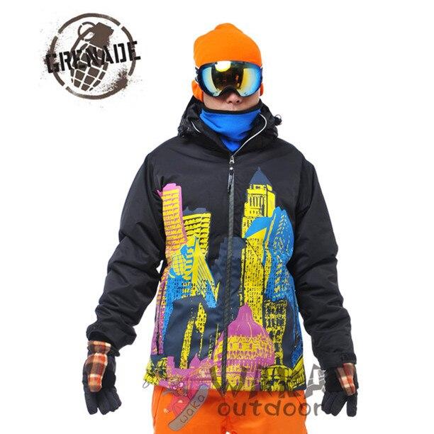 2efaa14c35 ski outdoor Men snowboard Outdoor Snow Sport Skiing Jacket Waterproof  Windproof Breathable Thermal Ski Jacket for Men