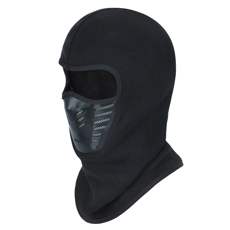 Fashion Full Face Cover Cap Windproof Anti Dust Ski Mask Rubber Breathable Fleece Lined Vent   Skullies     Beanies   Hat