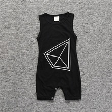 2019 New Baby Romper 6-18M Newborn Infant Kids Clothing Summer Sleeveless Boys Girls Outfit One Pieces
