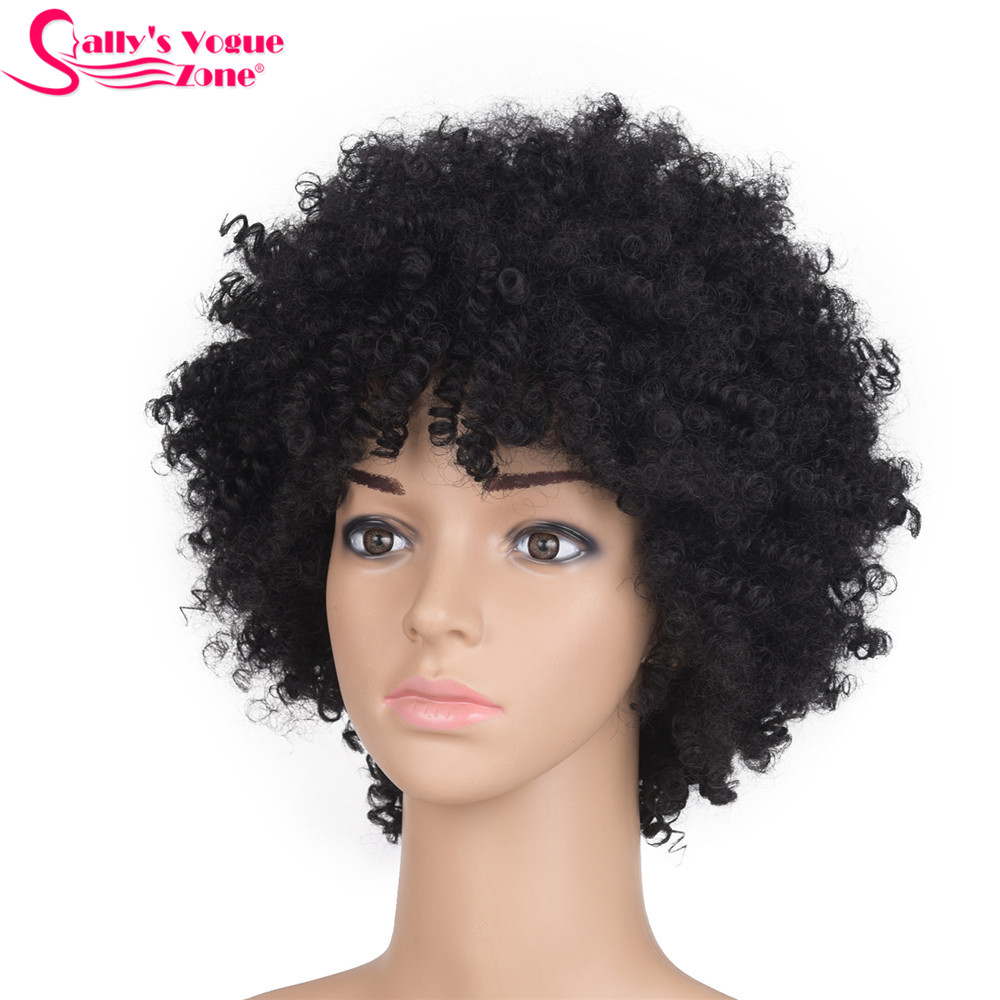 Sallyhair High Temperature Synthetic America Afro Kinky