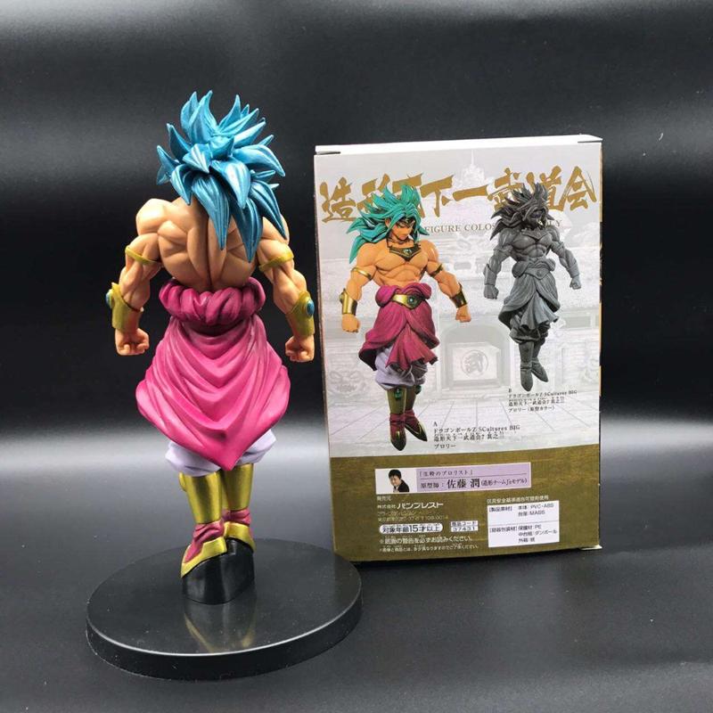 Anime Dragon Ball Z Broli Figure Super Saiyan Broli Doll PVC Action Figures Toy Brinquedos 20cm (2)
