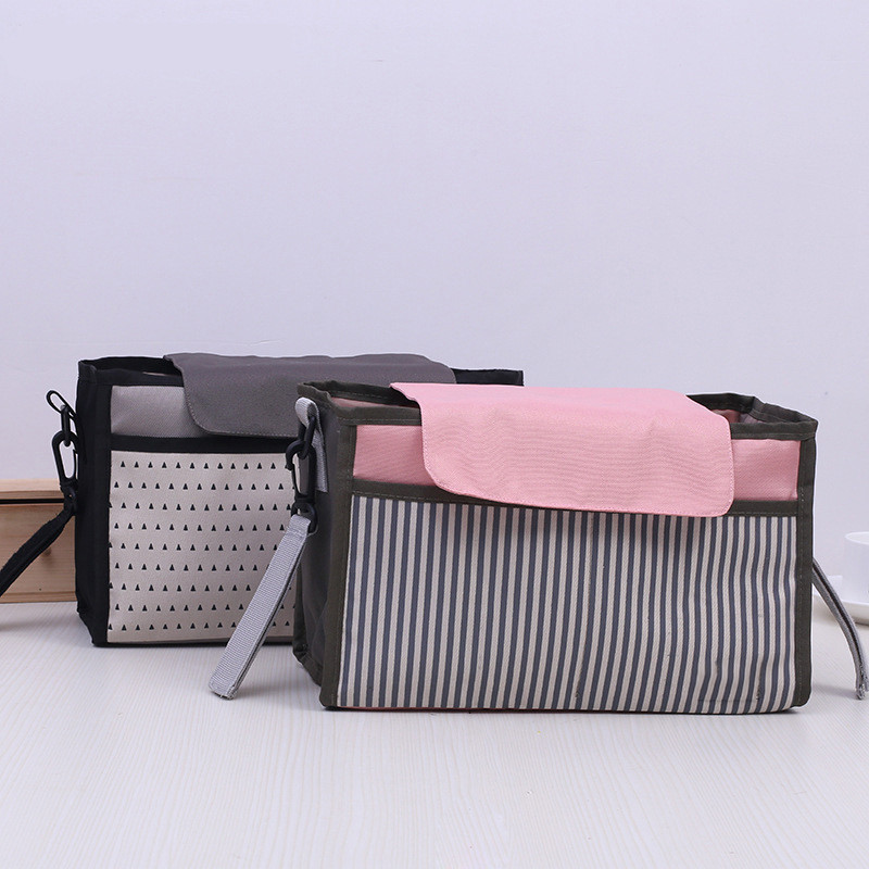 Baby Stroller Bags Organizer Pram Accessories Diaper Hook Folding Care Nursing Nappy Wet Bottle Insulation Multi-function Stuff