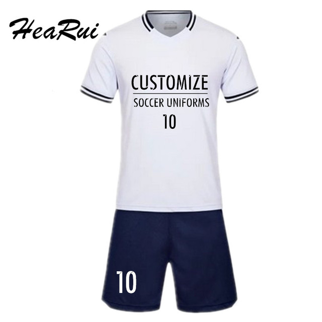 2017-2018 Soccer Jersey Youth Men s Survetement Football Male Futbol  Training Uniforms Blank Breathable Maillot de Foot Sporting 80229a547