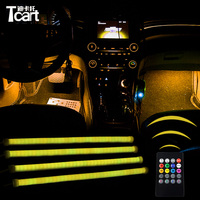 Tcart For Infiniti FX 50 FX37 2pcs LED Sound Music Car Stickers music Flashing Music Rhythm Lamps car accessories for car lights