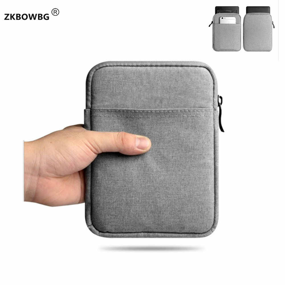 Mouw Pouch Tassen Case voor Barnes & Noble Nook GlowLight Plus 6 Inch e-book voor pocketbook basic touch lux HD 1 2 3 plus 6inch