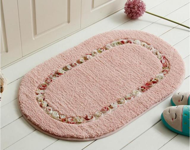 Floor Carpet Mat Living Dining Bedroom Area Rugs Past Eco Friendly Anti Slip Door Bathroom Rug Home Textile
