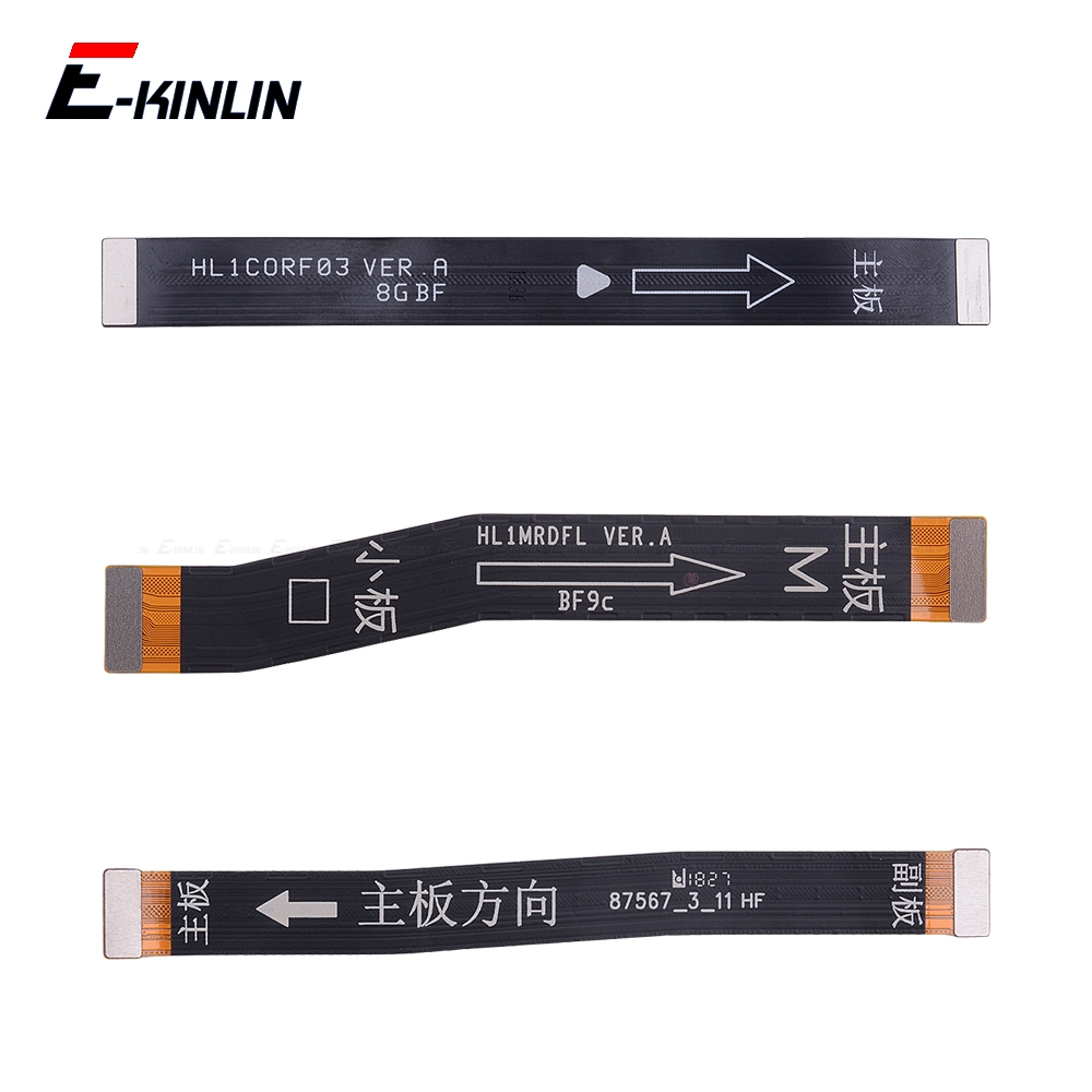 100% New Main Board <font><b>Motherboard</b></font> LCD Display Connector Flex Cable For HuaWei <font><b>Honor</b></font> Play 8A 7C 7A <font><b>7X</b></font> 6C 6A 6X 5C Pro image
