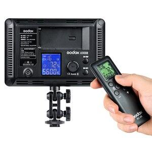Image 3 - 新godox 308C 2 色調光可能な 5500 18k/3300 5400k led ledビデオスタジオライトランププロビデオライトリモコン