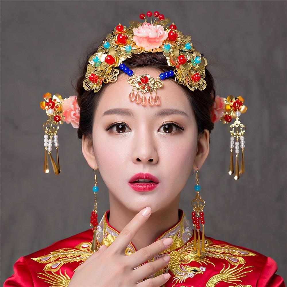Nuevo Lujo de La Vendimia Traje de Princesa Antigua China Emperatriz ...