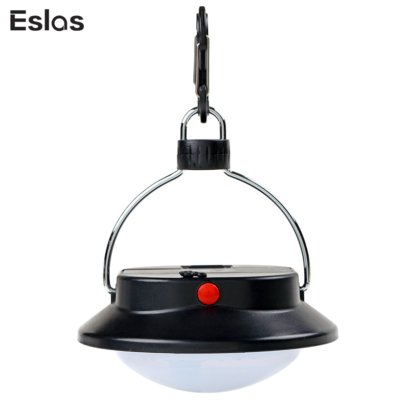 Eslas 60 LED Portable Tent Light Super Bright Camping Lamp Rechargeable For Outdoor Fishing Hanging Lighting