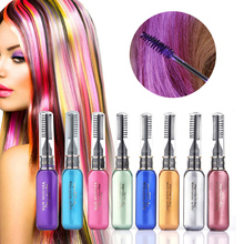 Waschbar Farbe Haar Wachs Styling Pomade Temporäre Kreide Haar Farbstoff Touchup Einweg Mode Molding Färbung Schlamm Creme Hause Salon