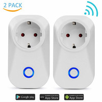 WIFI Smart Plug Smart Switch Socket EU Plug Audio Control Smart Timing Socket Wireless Outlet Voice