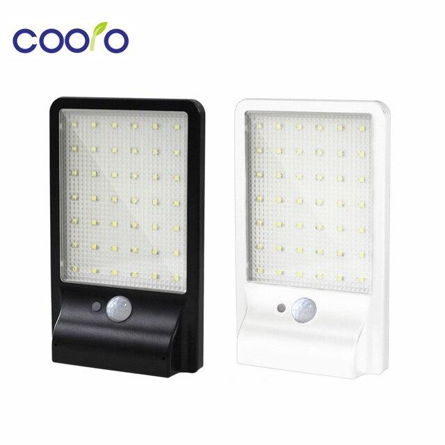 500LM 42led Solar Lamp Outdoor Waterproof Motion Sensor Detector Lamp Sconces Lighting Garden Wall Lamp