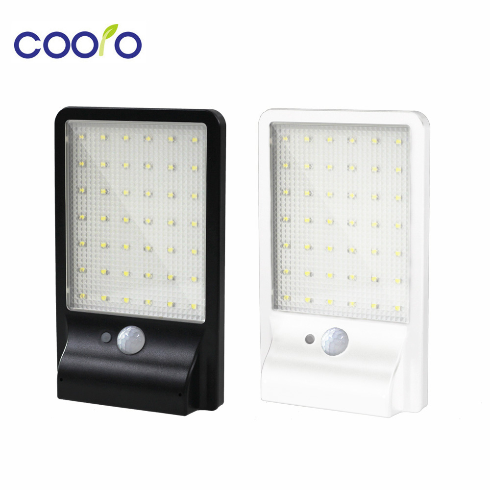 € 15.8 40% de réduction|500LM 42led lampe solaire extérieure étanche  détecteur de mouvement détecteur lampe appliques éclairage jardin  applique-in LED ...
