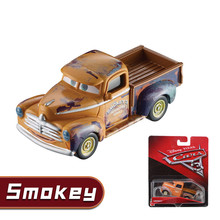 DISNEY PIXAR 3 New Style Alloy Cars Smokey Model DXV29 Toy CARS Car King Lightning McQueen Mater  Black Storm For Children