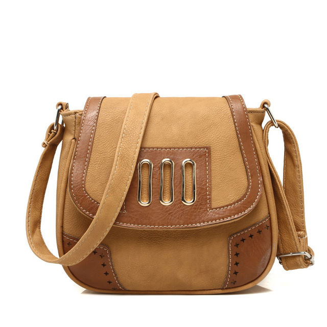 Hot new fashion free style bag brand solid Crossbody bags sweet hollow PU leather bag women vintage shoulder bags