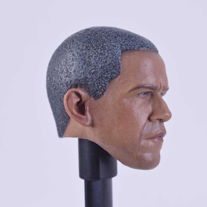 Muy caliente de hombre Obama América cabeza Sculpt talla modelo 1/6 Escala de 12 pulgadas juguetes HT TTL Phicen cuerpo A-29