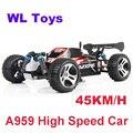 45 КМ/Ч 2.4 Г Высокая скорость Дистанционного Управления Toys RC Автомобилей 4WD Off-Road RC Monster Truck Автомобиль Пульт Дистанционного Управления