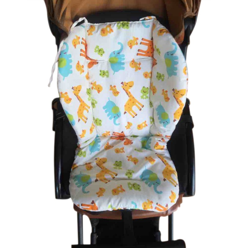 Baby Universal Car Stroller Seat Covers Auto Soft Thick Pram Cushion Car Seat Pad Covers For Baby Children Stroller Accessories