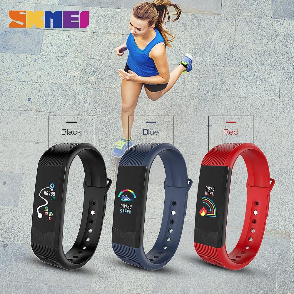 Sport de plein air montre intelligente Sport Fitness Tracker Smartwatch étanche Bracelet de pression artérielle 3D femmes montres