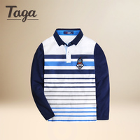 2017 High Quality Boys T Shirts Long Sleeve Children Sweaters Stripe Pattern Baby Boys Girls Unisex